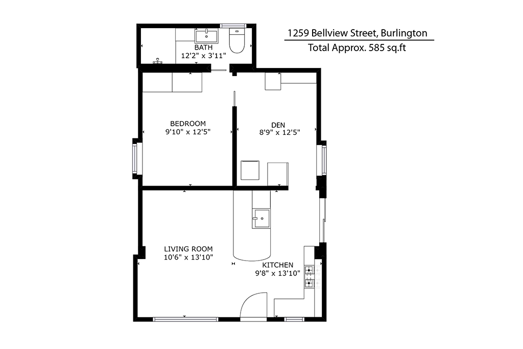 Bellview floor plan