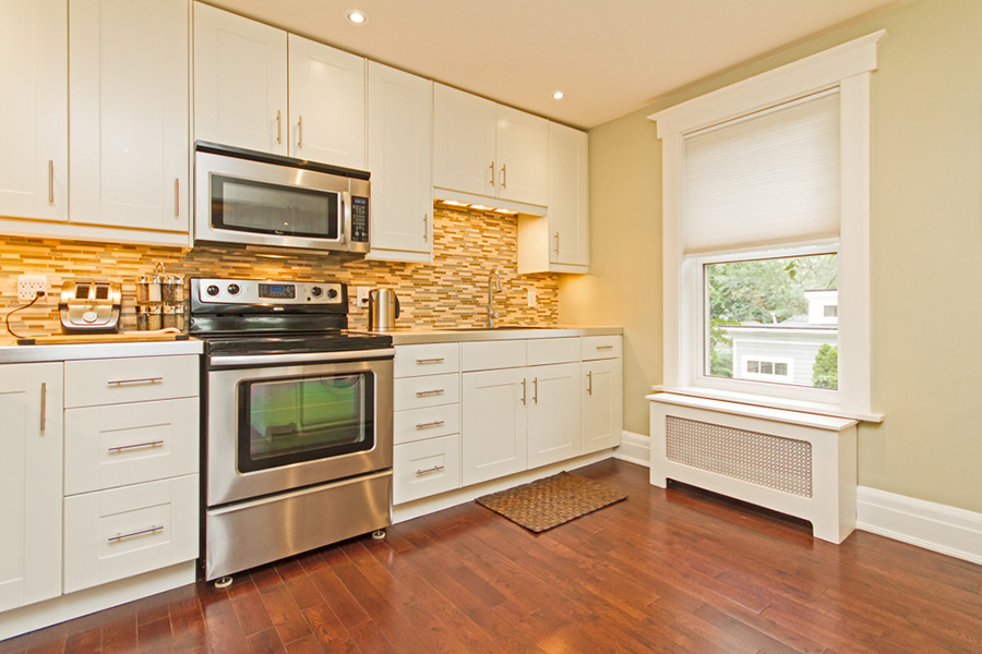 Kitchen in Emerson House, Caroline St, Burlington furnished rental