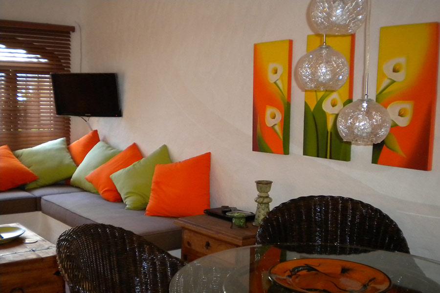 Banquettes at Condo Ibiza #2, Puerto Vallarta