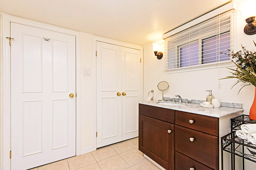 Bathroom in Emerson House #2, 1445 Caroline Street, Burlington furnished rental